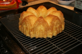 Cathedral Bundt Cake